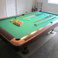 Brunswick Gold Crown IV 9' Tournament Pool Table