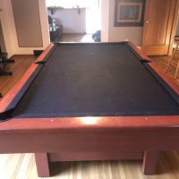 Brunswick Contender Pool Table