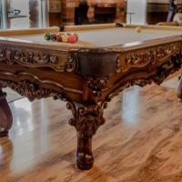 Porter & Sons Custom 8' Florentine Billiard Table
