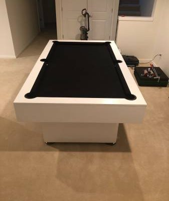 Pool and Ping Pong Table