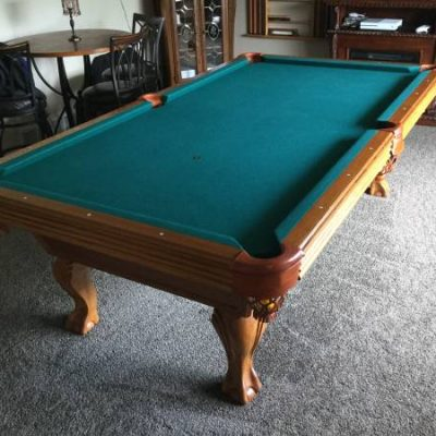 8 ft Olhausen Slate Pool Table