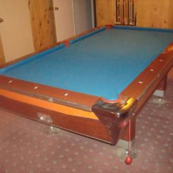 Fischer Pool Table & Accessories (SOLD)