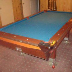 Fischer Pool Table & Accessories