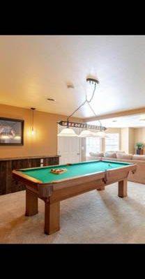 Pool Table and Pool Table Light