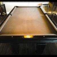 Modern 3-in-1 Brunswick Pool Table with Table Tennis and Hockey
