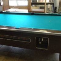 Valley Pool Table Coin Operated