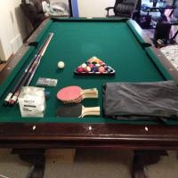 8' Pool Table + Bunch of Extras